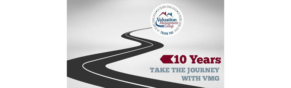 Valuation Management Group's 10 year appraisal industry compliance timeline